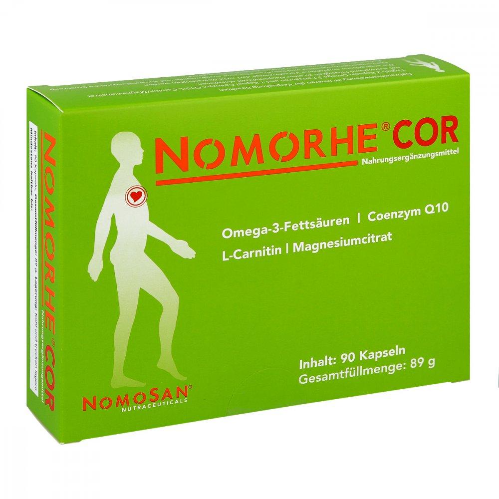 NOMOSAN GmbH Nomorhe Cor Kapseln 90 stk 15424042
