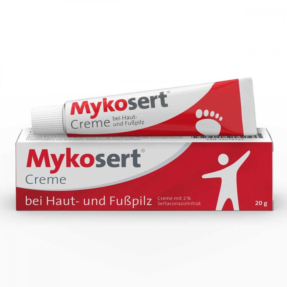 Dr. Pfleger Arzneimittel GmbH Mykosert Creme bei Haut- und Fusspilz 20 g 15579721