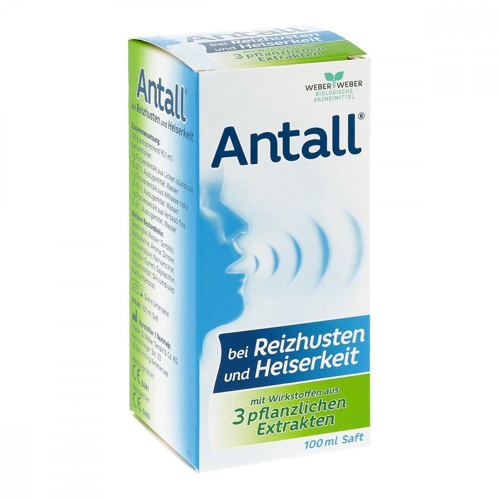 WEBER & WEBER GmbH & Co. KG Antall bei Reizhusten und Heiserkeit Saft 100 ml 15635684