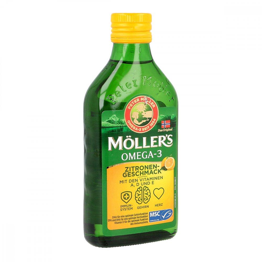 doletra Health GmbH Möller's Omega-3 Zitronengeschmack öl 250 ml 15638375
