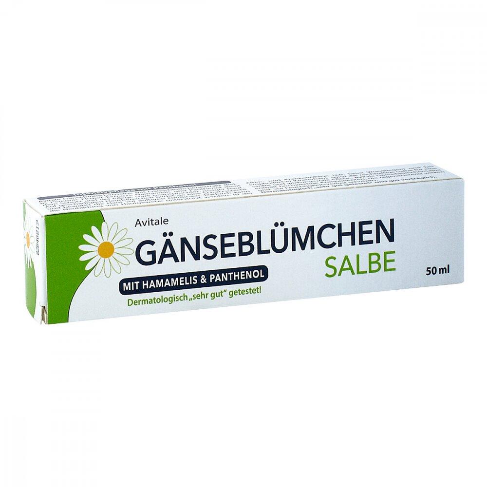 Avitale GmbH Gänseblümchen Salbe mit Hamamelis & Panthenol 50 ml 15780067