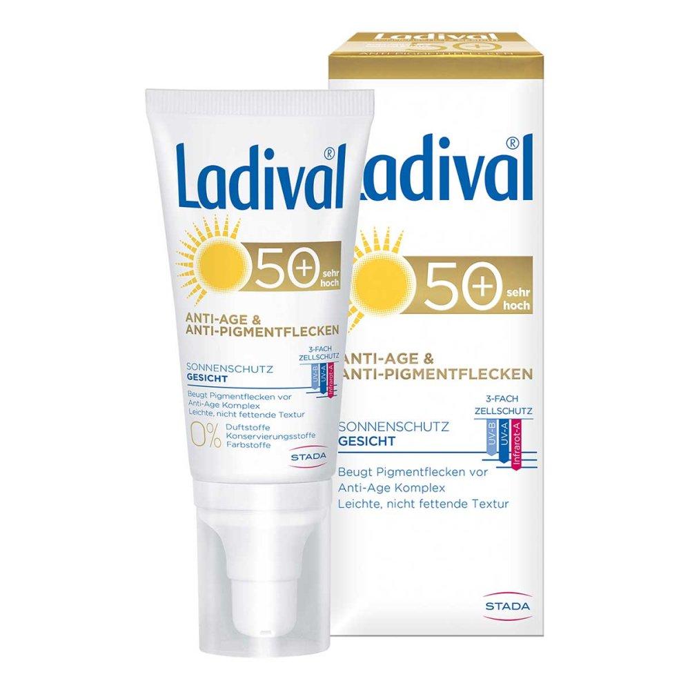 STADA GmbH Ladival Sonnenschutz Gesicht Anti-Age & Anti-Pigmentflecken Creme LSF 50+ 50 ml 15864172