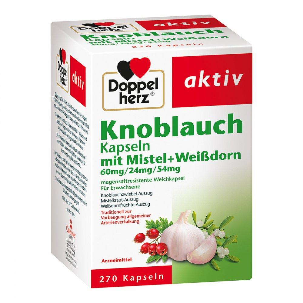 Queisser Pharma GmbH & Co. KG Doppelherz Knobl.kap.m.mistel+weissdorn 60/24/54 m 270 stk 15994590