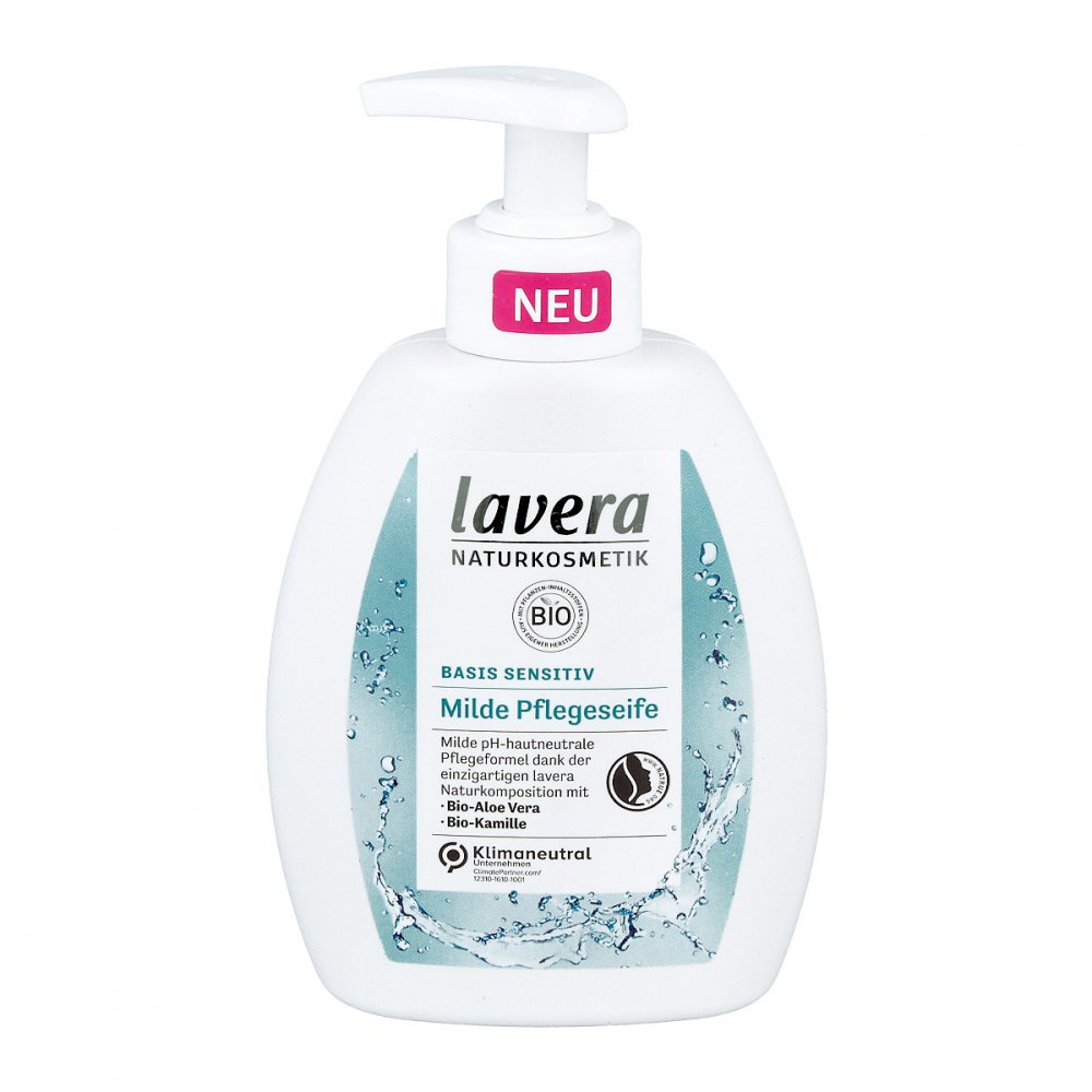 LAVERANA GMBH & Co. KG Lavera basis sensitiv Pfl.s.mild Bio Aloe+kamille 250 ml 16201350