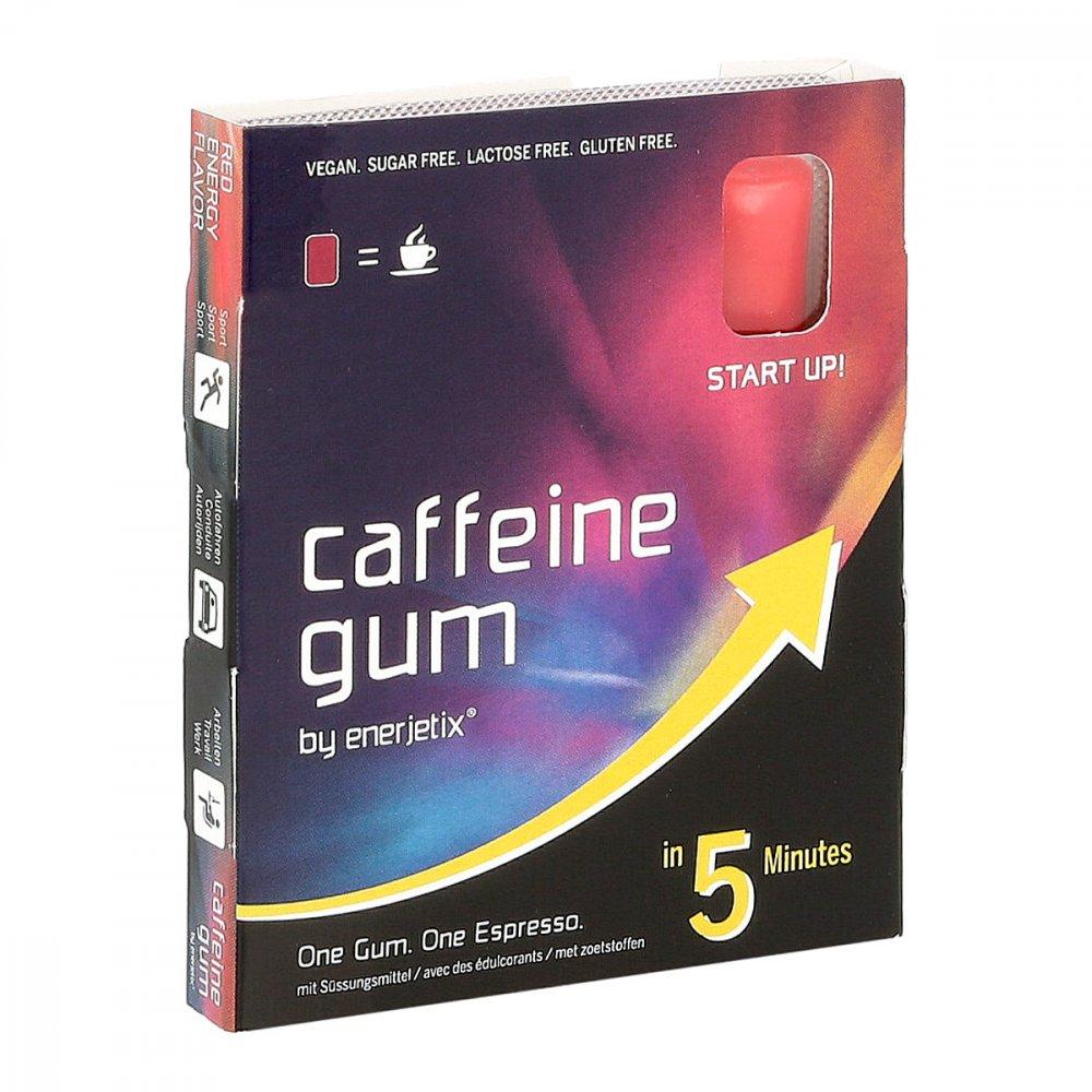 Lemon Pharma GmbH & Co. KG Coffein Gum red Energy Kaugummi by enerjetix 9 stk 16387047