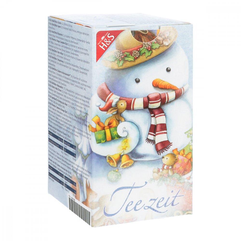 H&S Tee - Gesellschaft mbH & Co. H&S Adventskalender Schneemann Filterbeutel 24 stk 16600268