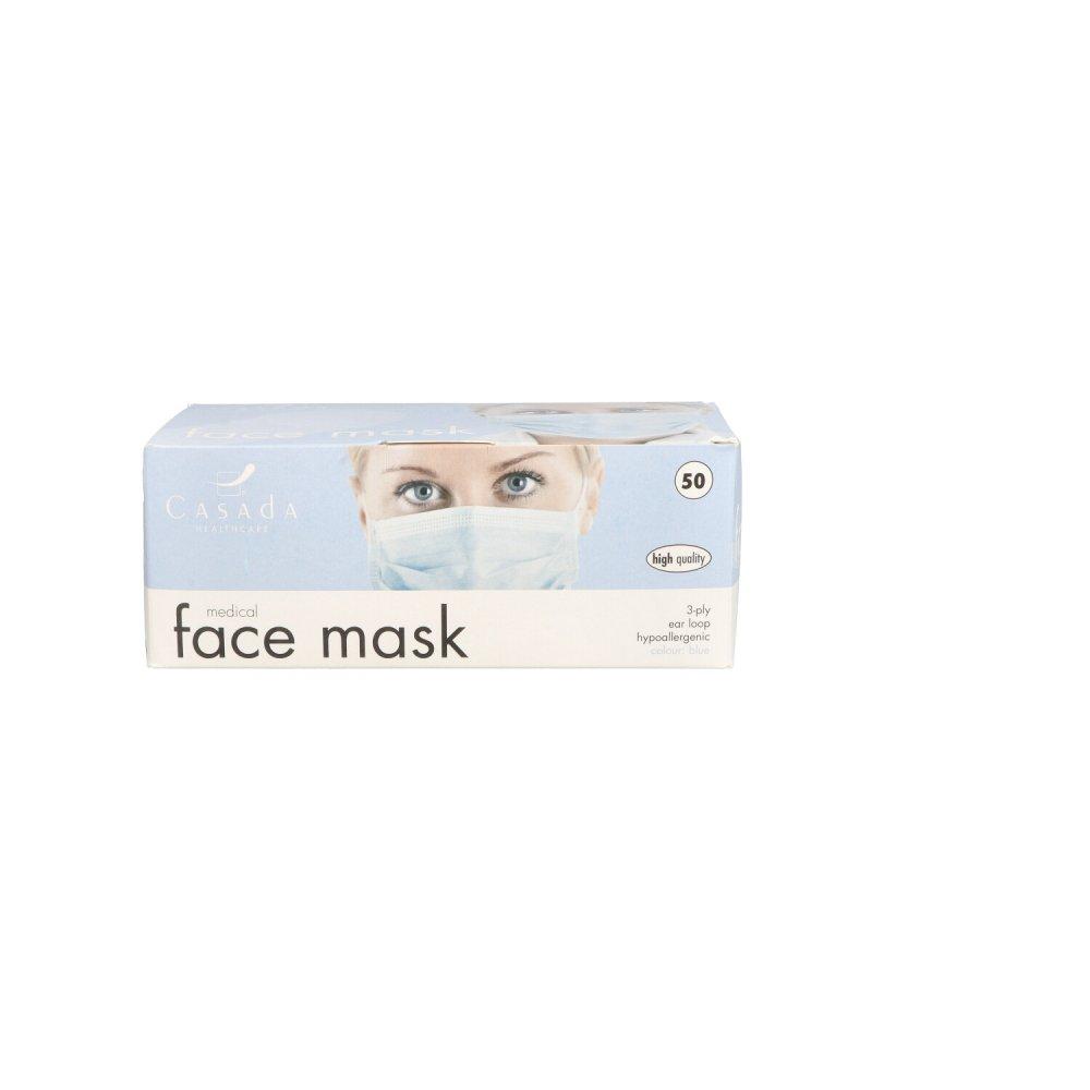 Casada Deutschland GmbH Hygienemaske/op-maske Mns Type Iir Bfe98% 50 stk 16660336