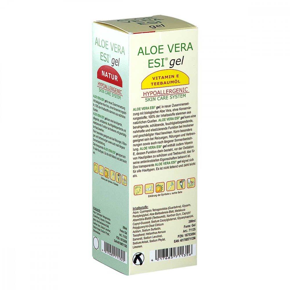 Groß GmbH Aloe Vera Gel mit Vitamin E und Teebaumöl Bio 200 ml 16753894