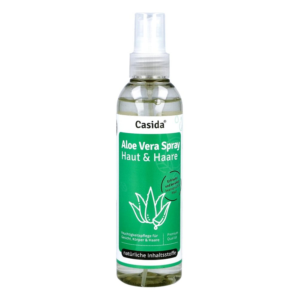 Casida GmbH & Co. KG Aloe Vera Spray Haut & Haare 200 ml 16813047