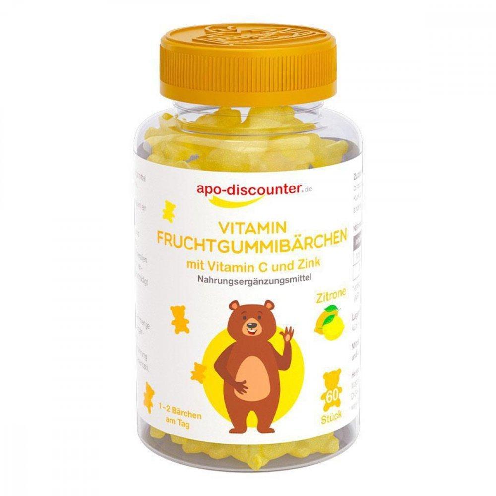 Gummibären Vitamin C von apo-discounter 60 stk 16908492
