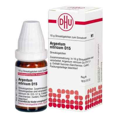 Argentum Nitricum D 15 Globuli  bei apolux.de bestellen