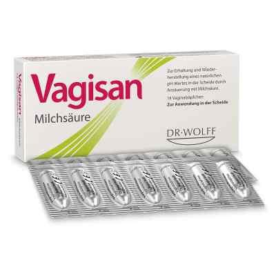 Vagisan Milchsäure Vaginalzäpfchen  bei apolux.de bestellen