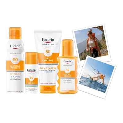 Eucerin Sun Sensitive Protect Spray Transparent LSF 30  bei apolux.de bestellen