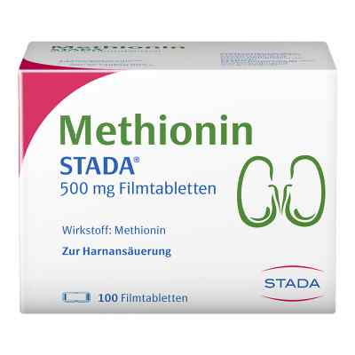 Methionin Stada 500 mg Filmtabletten  bei apolux.de bestellen