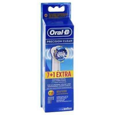Oral B Aufsteckbürsten Precision Clean 7er+1  bei apolux.de bestellen