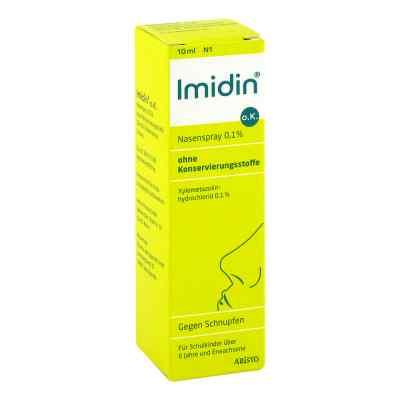 Imidin o.K. Nasenspray 0,1% ohne Konservierungsstoffe  bei apolux.de bestellen