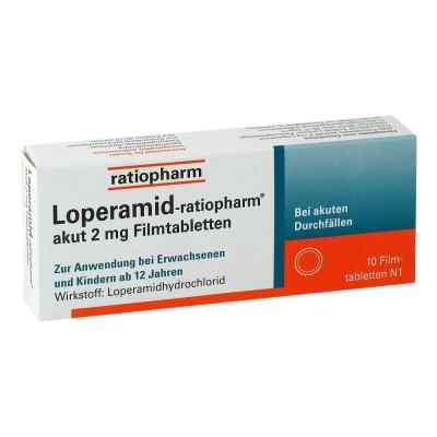 Loperamid-ratiopharm akut 2mg  bei apolux.de bestellen