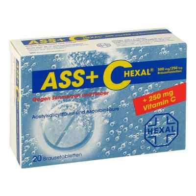ASS+C HEXAL gegen Schmerzen und Fieber  bei apolux.de bestellen