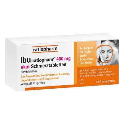 IBU-ratiopharm 400 akut Schmerztabletten  bei apolux.de bestellen