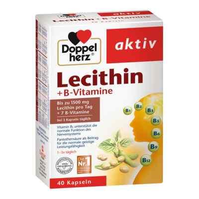 Doppelherz Lecithin + B-vitamine Kapseln  bei apolux.de bestellen