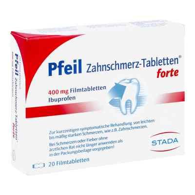 Pfeil Zahnschmerz-Tabletten forte 400mg  bei apolux.de bestellen
