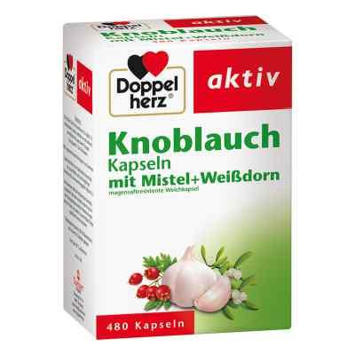 Doppelherz aktiv Knoblauch mit Mistel+Weißdorn  bei apolux.de bestellen