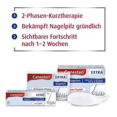 Canesten Extra-Nagelset gegen Nagelpilz (+15 Pflaster+Schaber)  bei apolux.de bestellen