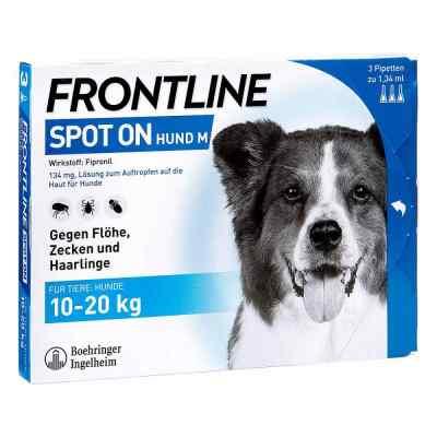 Frontline Spot on Hund 20 veterinär Lösung gegen Floh und Zecke  bei apolux.de bestellen
