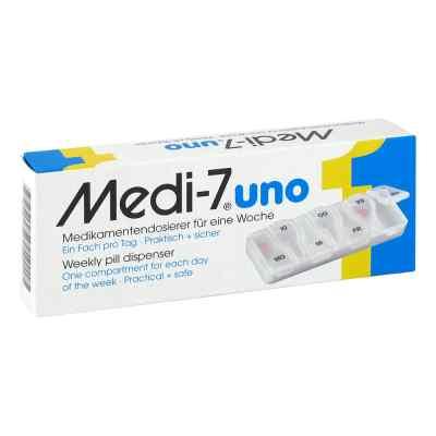 Medi 7 Uno Medikamenten Dosierer für 7 Tage  bei apolux.de bestellen