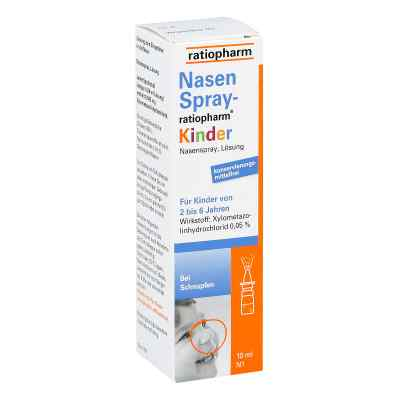 NasenSpray-ratiopharm Kinder  bei apolux.de bestellen