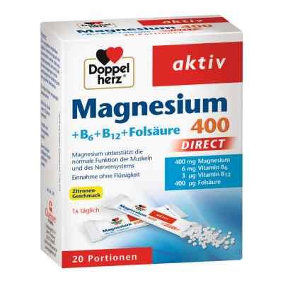 Doppelherz Magnesium + B Vitamine Direkt Pellets  bei apolux.de bestellen