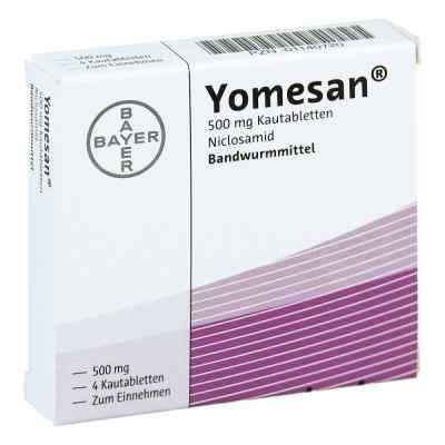 Yomesan 500 mg Kautabletten  bei apolux.de bestellen