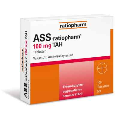 ASS-ratiopharm 100mg TAH  bei apolux.de bestellen