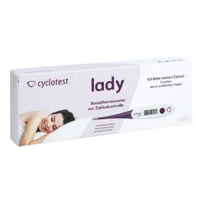 Cyclotest lady Basalthermometer