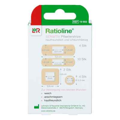 Ratioline sensitive Pflasterstrips in 4 Grössen  bei apolux.de bestellen