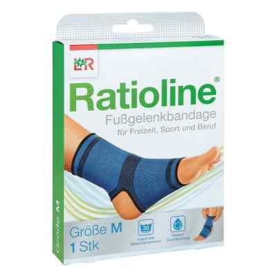 Ratioline active Fussgelenkbandage Größe m  bei apolux.de bestellen