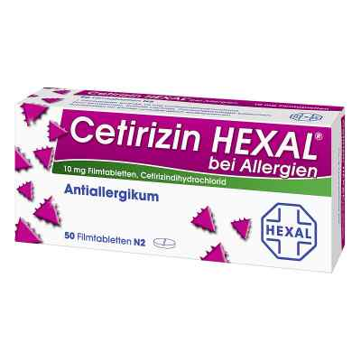 Cetirizin HEXAL bei Allergien  bei apolux.de bestellen