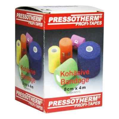 Pressotherm Kohäsive Bandage 8cmx4m grün  bei apolux.de bestellen