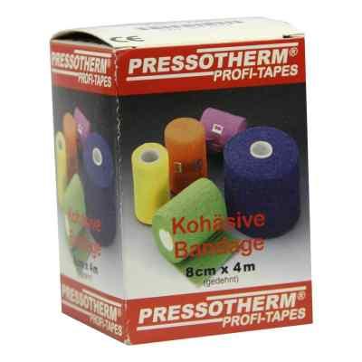 Pressotherm Kohäsive Bandage 8cmx4m rot  bei apolux.de bestellen