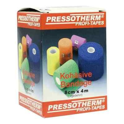 Pressotherm Kohäsive Bandage 8cmx4m gelb  bei apolux.de bestellen