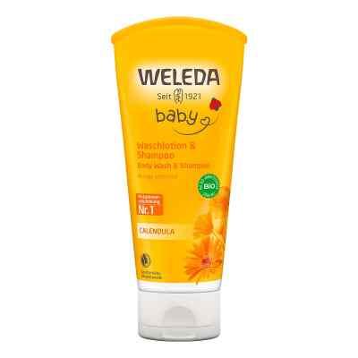 Weleda Calendula Waschlotion & Shampoo  bei apolux.de bestellen