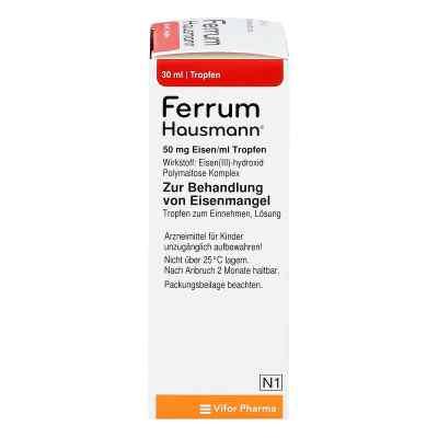 Ferrum Hausmann 50mg Eisen/ml Lösung  bei apolux.de bestellen