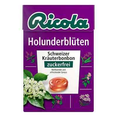 Ricola ohne Zucker  Box Holunderblüten Bonbons  bei apolux.de bestellen