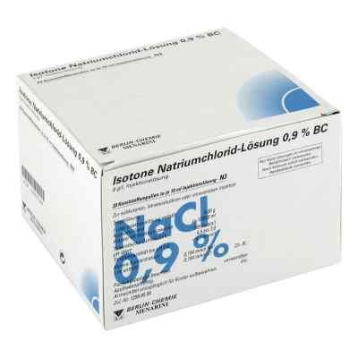 Isotone Nacl Lösung 0,9% Bc Plastik  iniecto -lösung  bei apolux.de bestellen