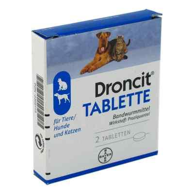 Droncit Tabletten für Hunde/katzen  bei apolux.de bestellen