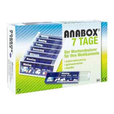 Anabox 7 Tage Wochendosierer blau  bei apolux.de bestellen