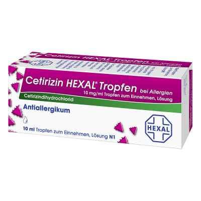 Cetirizin HEXAL bei Allergien 10mg/ml  bei apolux.de bestellen