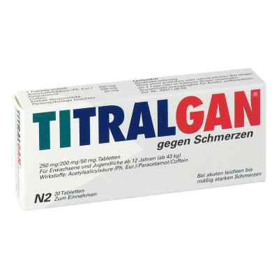TITRALGAN gegen Schmerzen  bei apolux.de bestellen