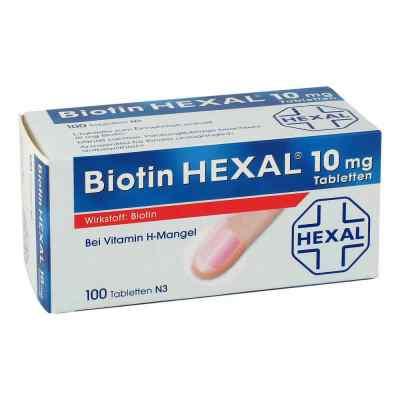 Biotin Hexal 10 mg Tabletten  bei apolux.de bestellen