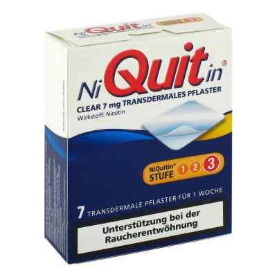 NiQuitin Clear 7mg/24 Stunden  bei apolux.de bestellen